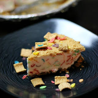 Dairy-Free Cereal Cheesecake.
