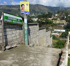 """Photo: Staircase to the """"Ecological Walk"""" by the Ambato River"""