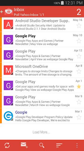 how to delete emails in inbox app