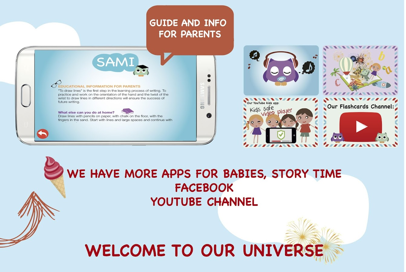 Sami Apps - kids & toddler app- screenshot