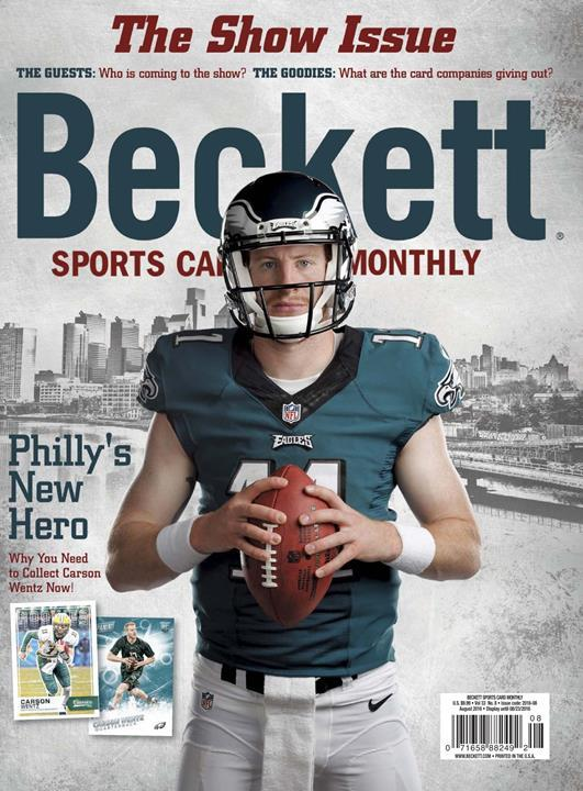 Beckett Sports Card Monthly- screenshot