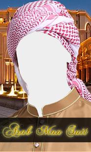 Arab Man Best Suit - náhled