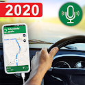 GPS Navigation Live Map & Driving Directions Guide icon