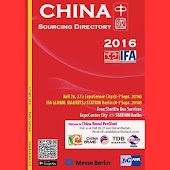IFA China Sourcing 2016