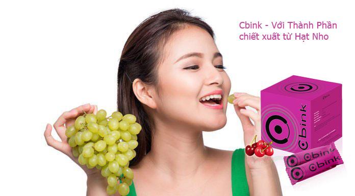 CBINK với thành phần chiết xuất từ hạt nho với công dụng giúp chống lão hoá siêu đẳng và giúp tăng vòng 1 tự nhiên - Ảnh 2