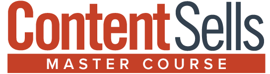 Content Sells Master Course