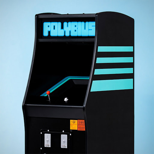 """Fabled """"Official Polybius"""" Is Now A Quarter Size Arcade…. Charger"""