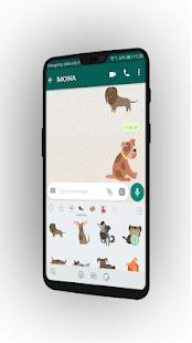 Download Cute Dog WA Stickers For PC Windows and Mac apk screenshot 3