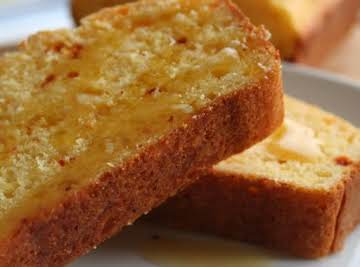 Golden Corn Kernels Honey Cornbread