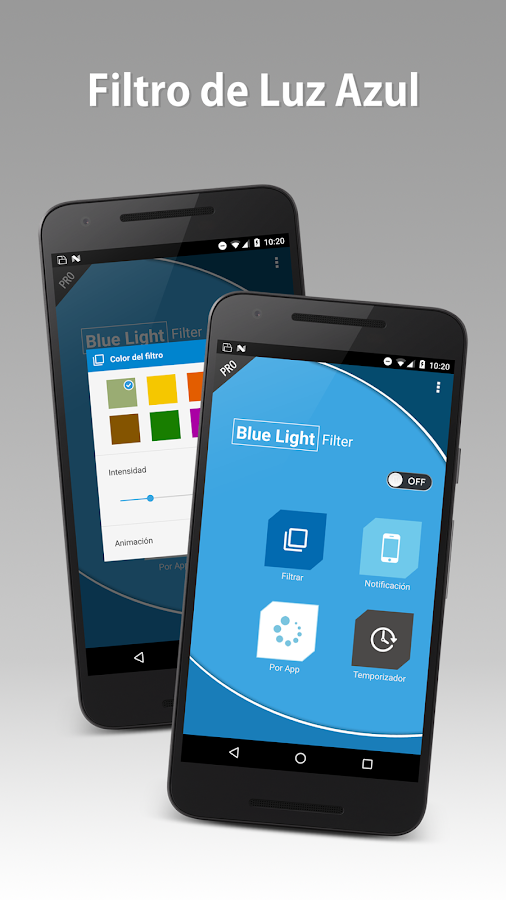 Blue Light Filter Pro: captura de pantalla
