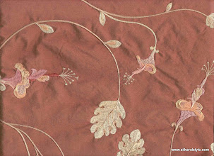 Photo: Mysore 08 - Felicity Series Embroidery - Coral