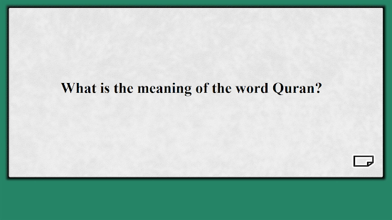 Islam Muslims & The Quran Learning Flashcards - náhled