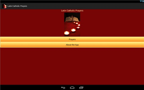 Latin Catholic Prayers- screenshot thumbnail