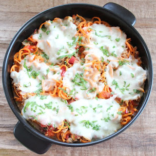 Italian Turkey Sweet Potato Casserole.