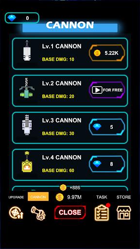 Cannon Defense-SciFi Idle apkmr screenshots 3