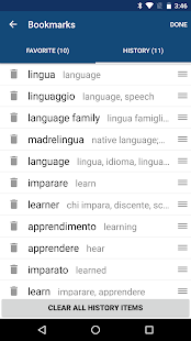 Italian English Dictionary & Translator Free- screenshot thumbnail