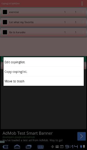 CopingList byNSDev 1.0.0 Windows u7528 9