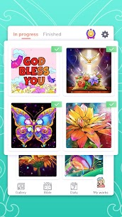 Bible Coloring – Paint by Number, Free Bible Games 3