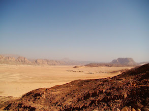 Photo: #001-Le désert sur la route de Sainte Catherine