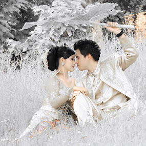 Tya and Andre by Pdream's Poenya - People Couples ( prewedding, wedding, gown, romance )