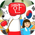 Read Korean game Hangul punch icon