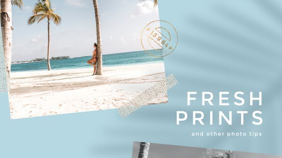 Fresh Prints - YouTube Thumbnail Template