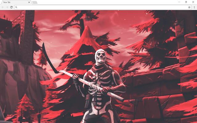 Fortnite skull trooper Backgrounds & Themes