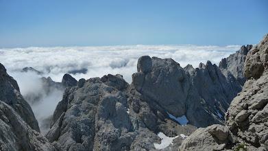 Photo: Como siempre, las vistas desde el camino hacia la depresión de la Pedriza Carbanal son fantásticas