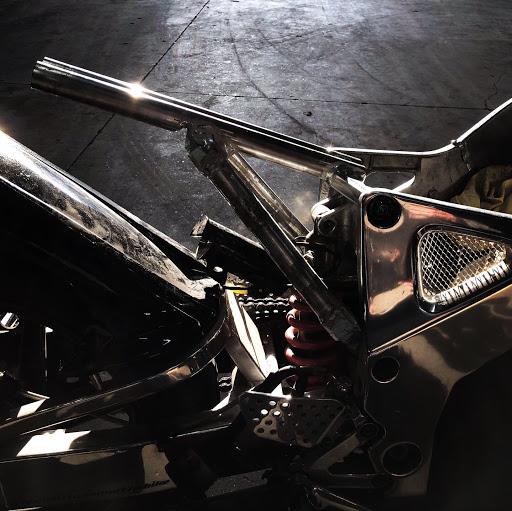 vue latérale, modification Motorcycle