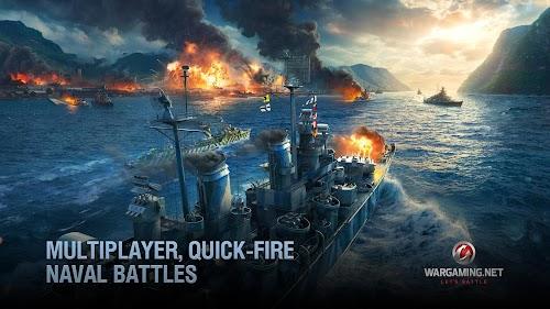 Screenshot 3 World of Warships Blitz: Multiplayer Navy War Game 1.9.0 APK MOD