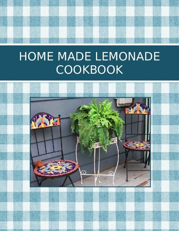 HOME MADE LEMONADE COOKBOOK
