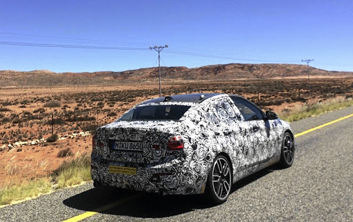 The BMW 1 Series sedan is not currently planned for SA.   Picture: LEON POTGIETER