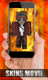 Skins Movie for Minecraft - náhled