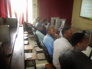 Photo: Student developers paying attention