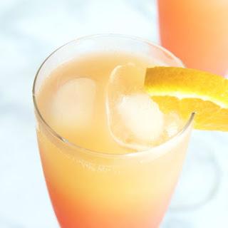 Tequila Sunrise Mimosa.