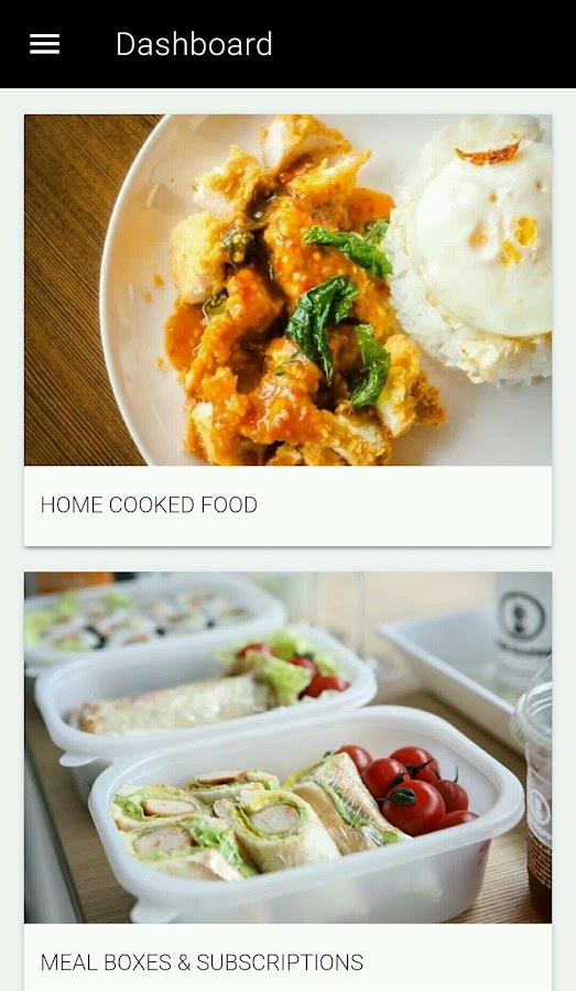 Oota Box: Home Cooked Food- screenshot