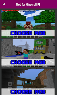Mods Addons for MCPE - náhled