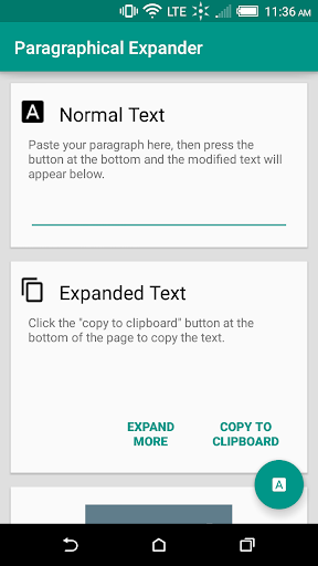 Paragraphical Expander
