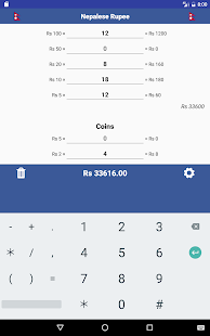 Cash Calculator -Money Counter- screenshot thumbnail