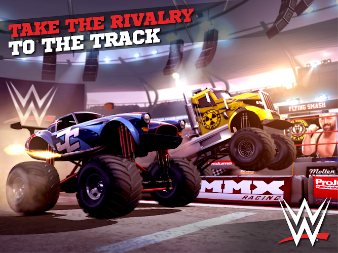 MMX Racing Featuring WWE Mod v1.13.8623 APK+DATA [Latest]