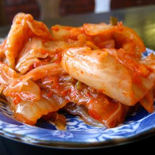 Judy Joo's Cabbage Kimchi