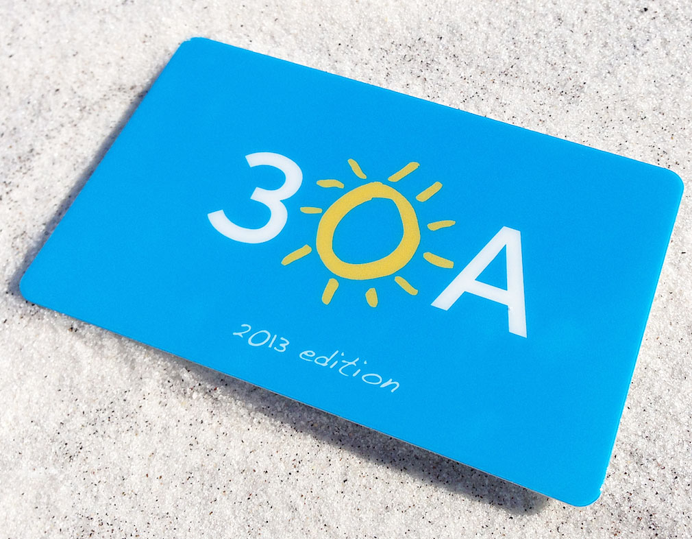 The 30A Lifestyle. Get your 30A card and save at different restaurants and shops all along 30A. Homes for sale along 30A gulf front