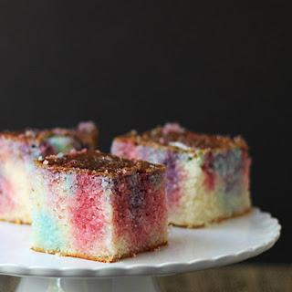 Tie-Dye Poke Cake