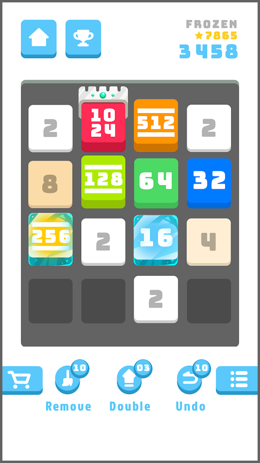 2048 Daily Challenges - Best pastime & brain game- screenshot