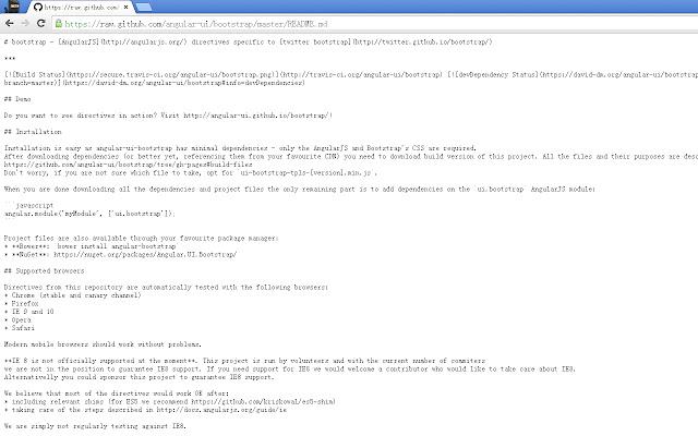 Markdown File Reader