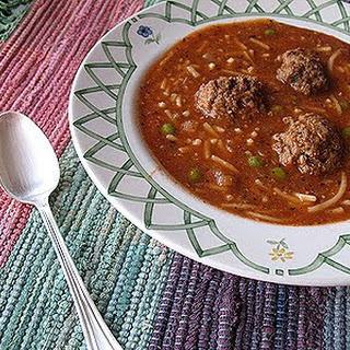 Amanda's Meatball Soup.