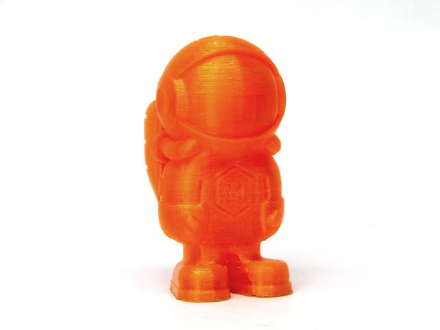 Translucent Orange MH Build Series TPU Flexible Filament - 1.75mm (1kg)