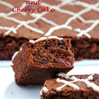 Double Chocolate and Cherry Cake