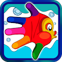 Fishes for toddlers icon