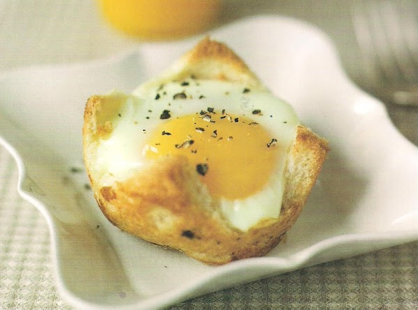 Baked Eggs In Maple Toast Cups Recipe